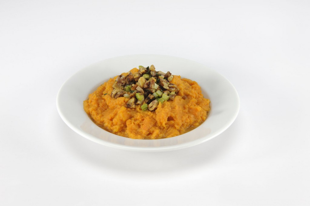 Nuclear Salad Amanda Freitag - Smashed Sweet Potatoes - Nuclear Salad