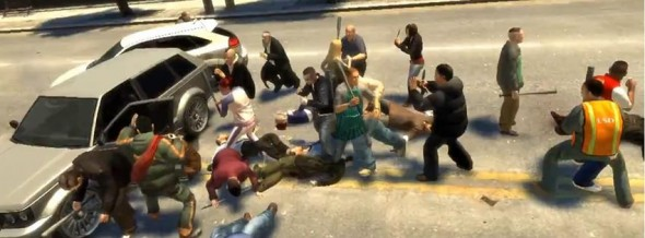 Just a typical Wednesday afternoon in Liberty City