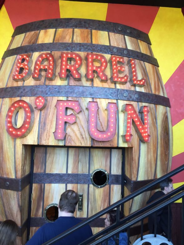 Barrel of Fun Entrance
