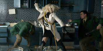 Charlize Theron Kills in ATOMIC BLONDE